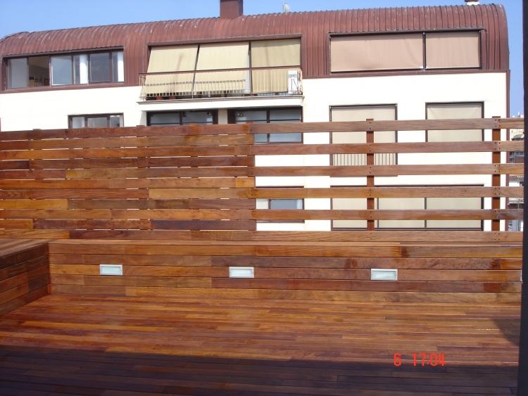 Vallas bdr especialistas en parket - Valla de madera ...