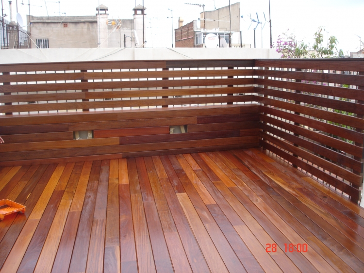 Vallas bdr especialistas en parket for Vallas madera para jardin